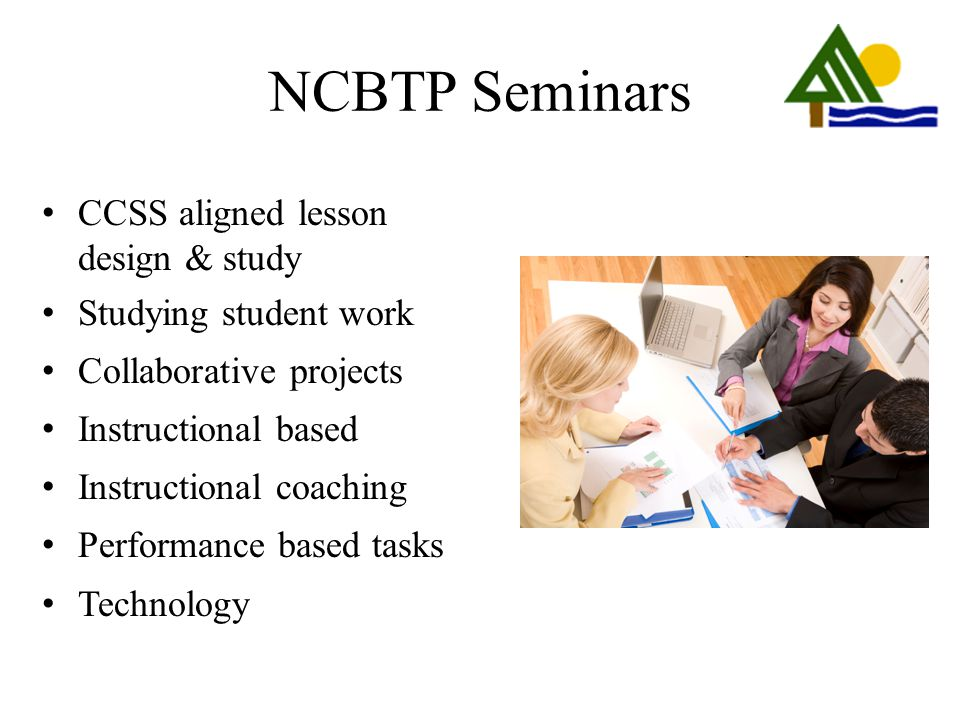 NCBTP Seminars CCSS aligned lesson design & study
