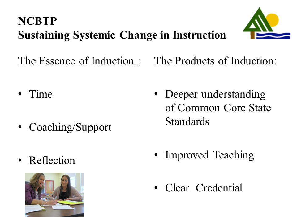 NCBTP Sustaining Systemic Change in Instruction