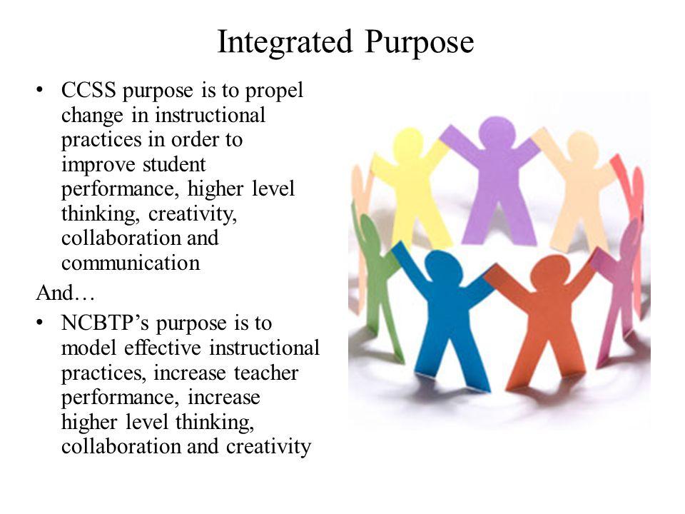 Integrated Purpose