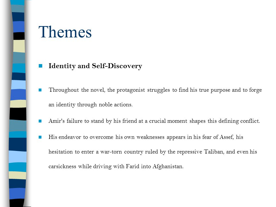 Themes Identity and Self-Discovery