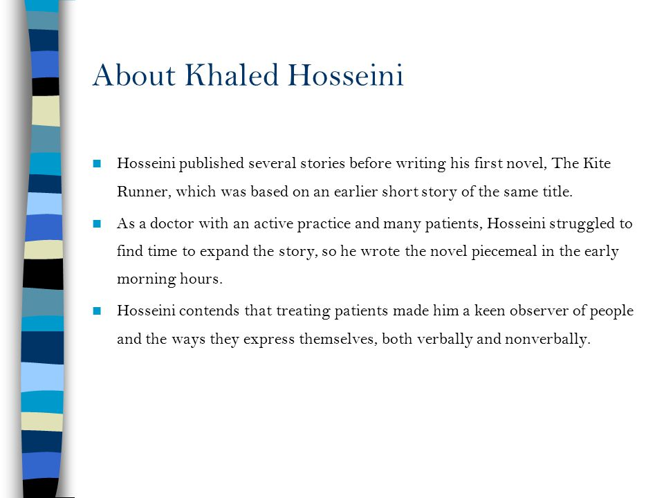 About Khaled Hosseini
