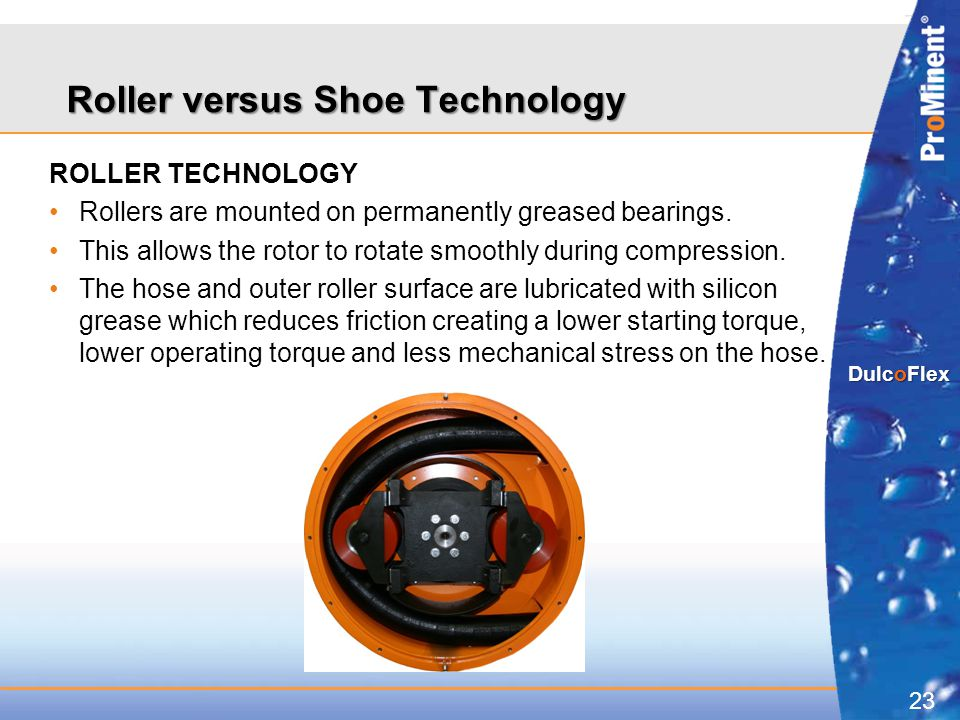Roller versus Shoe Technology