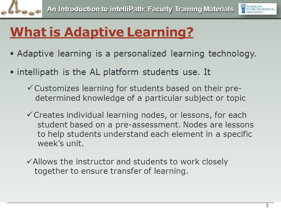 What is Adaptive Learning