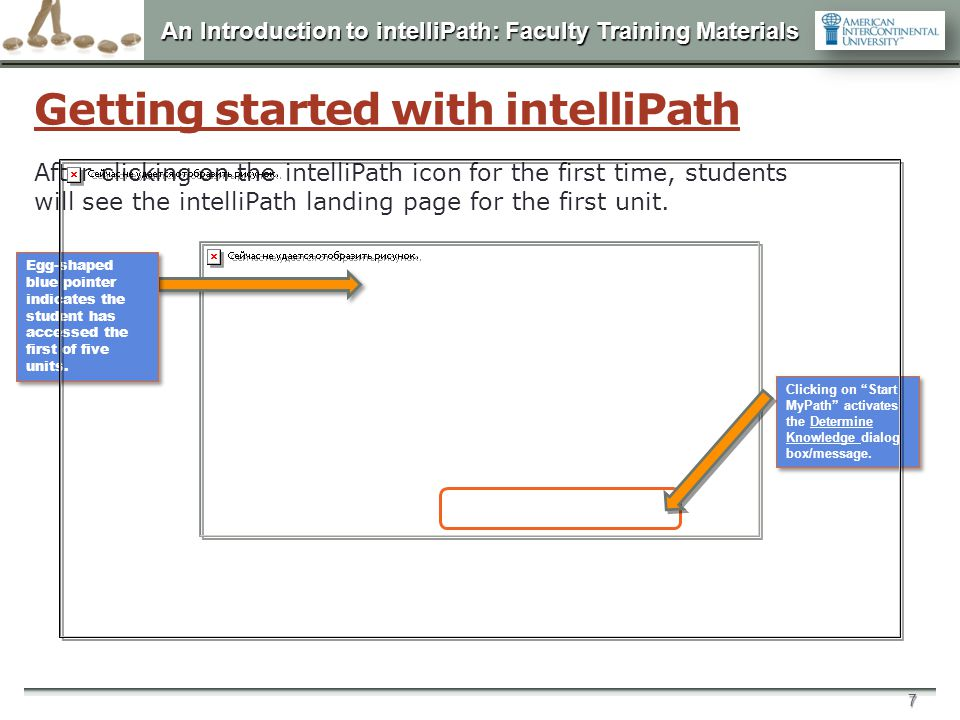 Getting started with intelliPath