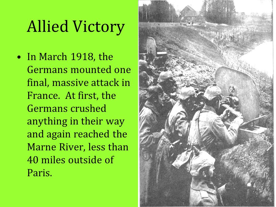 Allied Victory