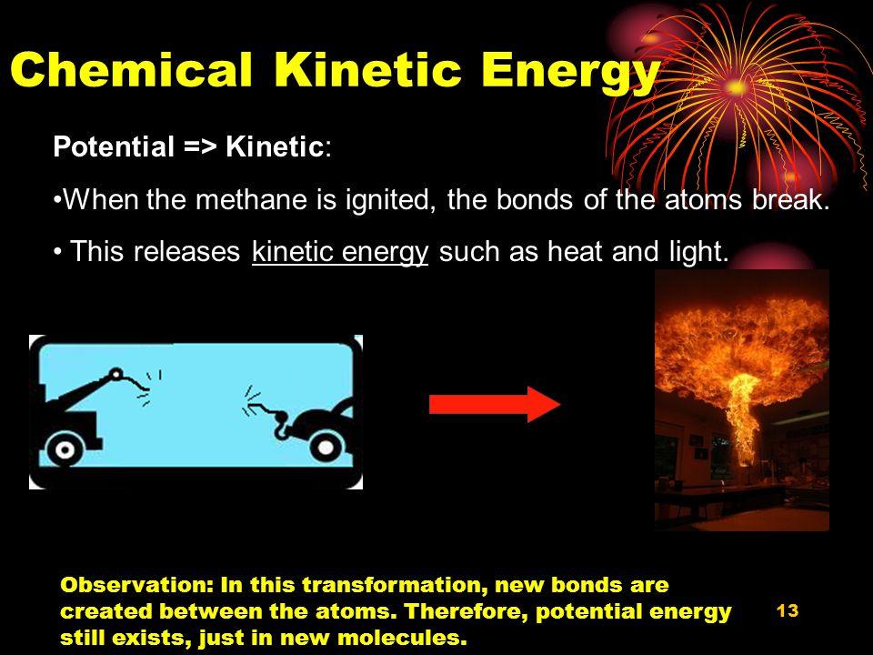 Chemical Kinetic Energy