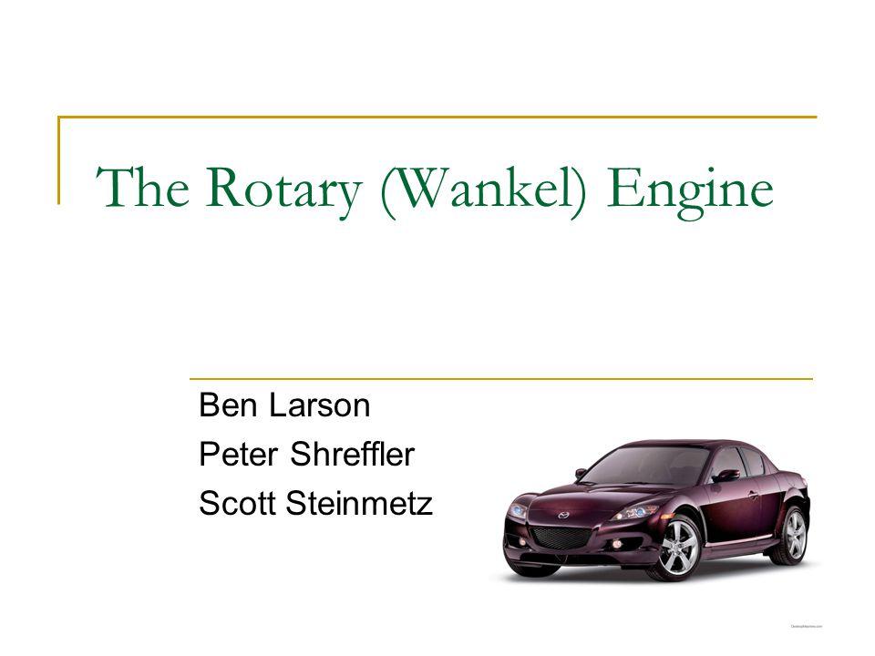 The Rotary (Wankel) Engine