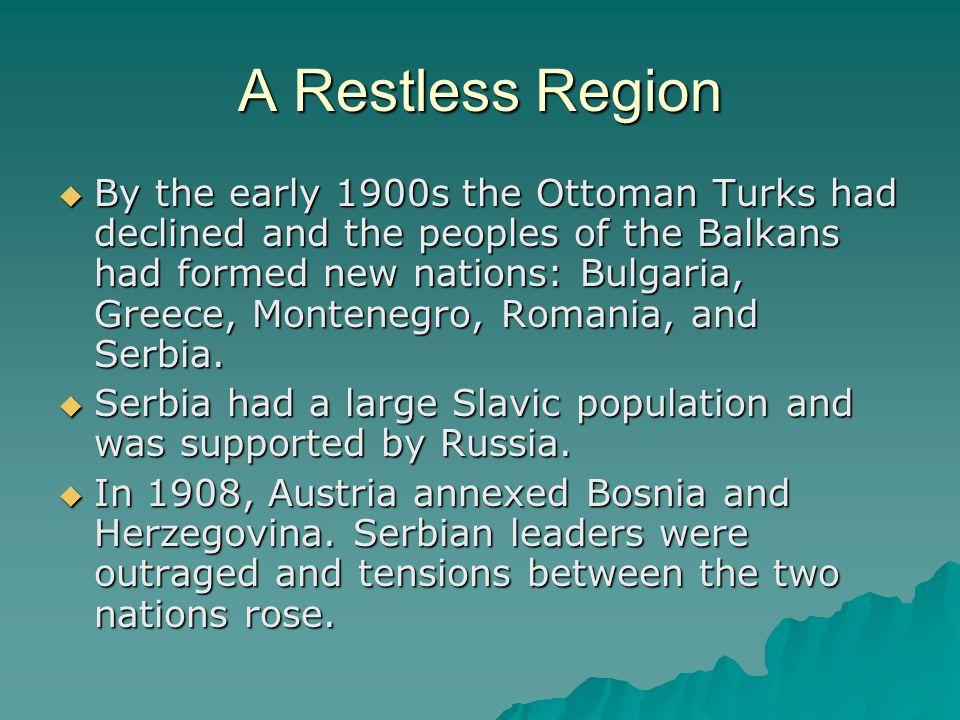 A Restless Region