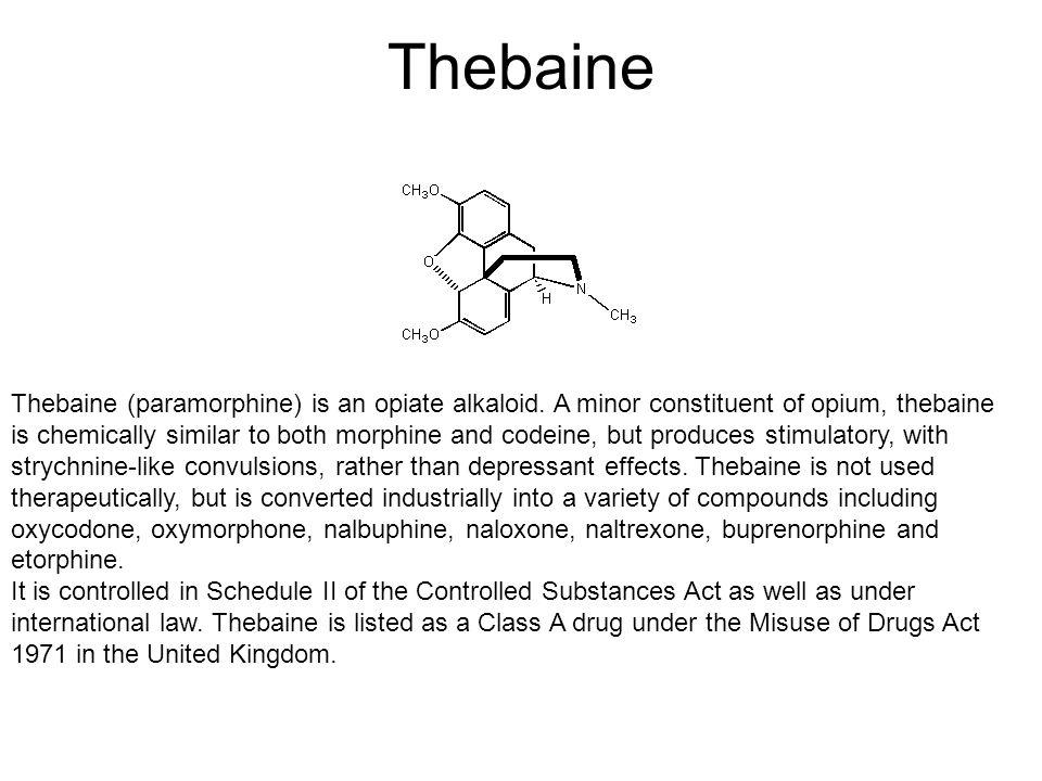 Thebaine