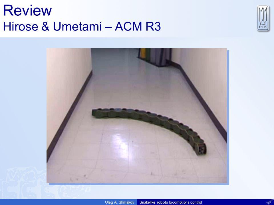 Review Hirose & Umetami – ACM R3