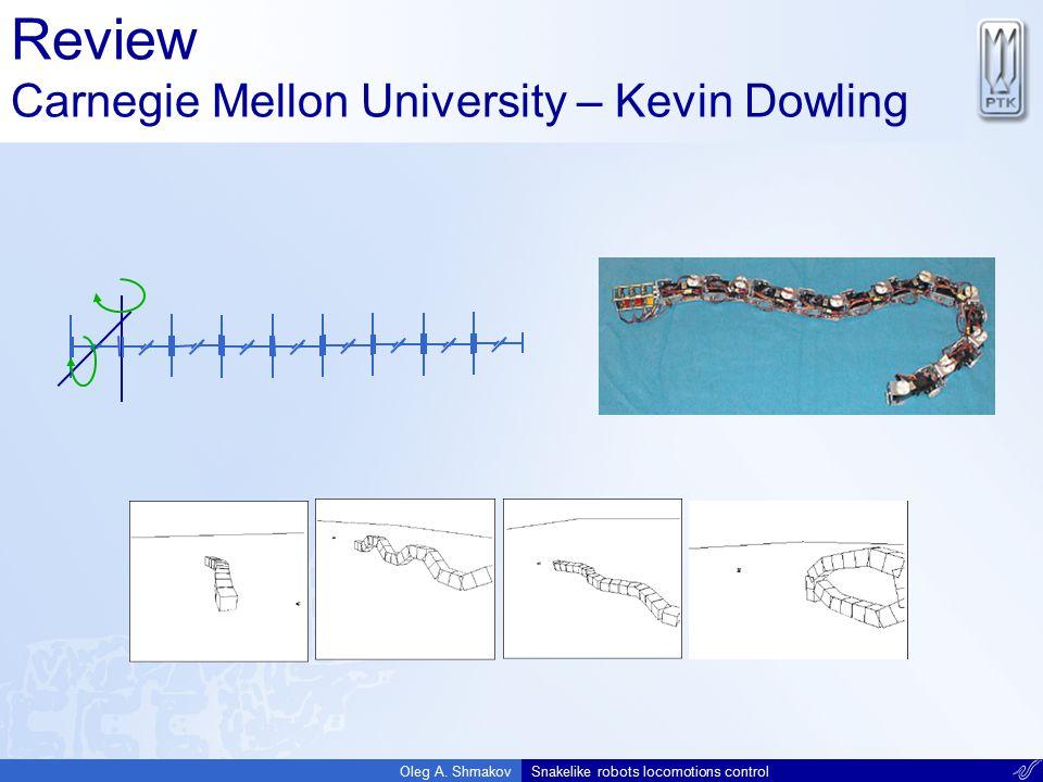 Review Carnegie Mellon University – Kevin Dowling