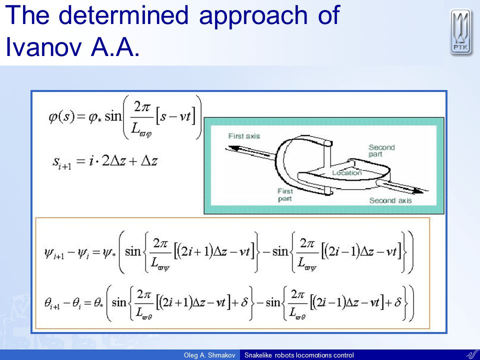 The determined approach of Ivanov A.A.