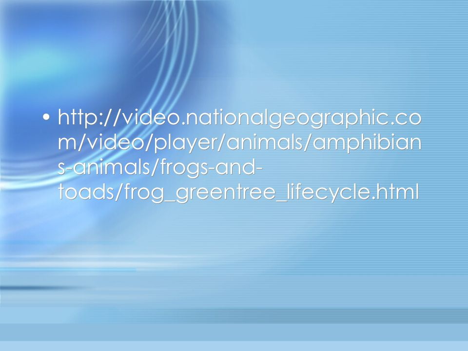 http://video. nationalgeographic