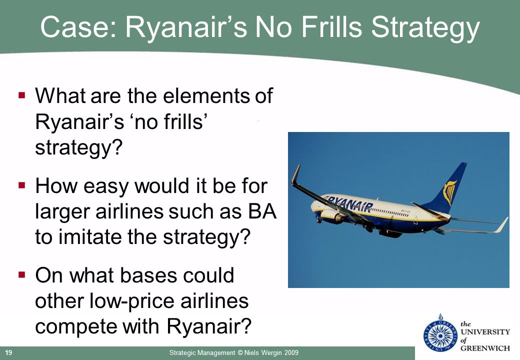 Case: Ryanair's No Frills Strategy