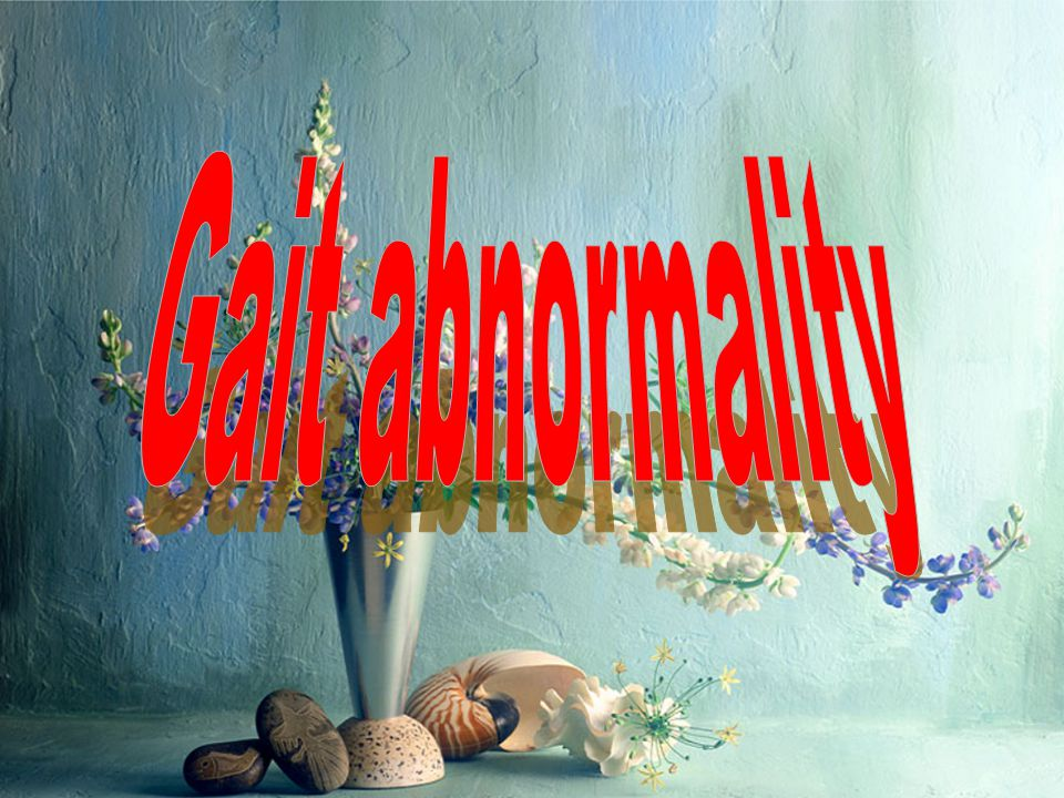 Gait abnormality