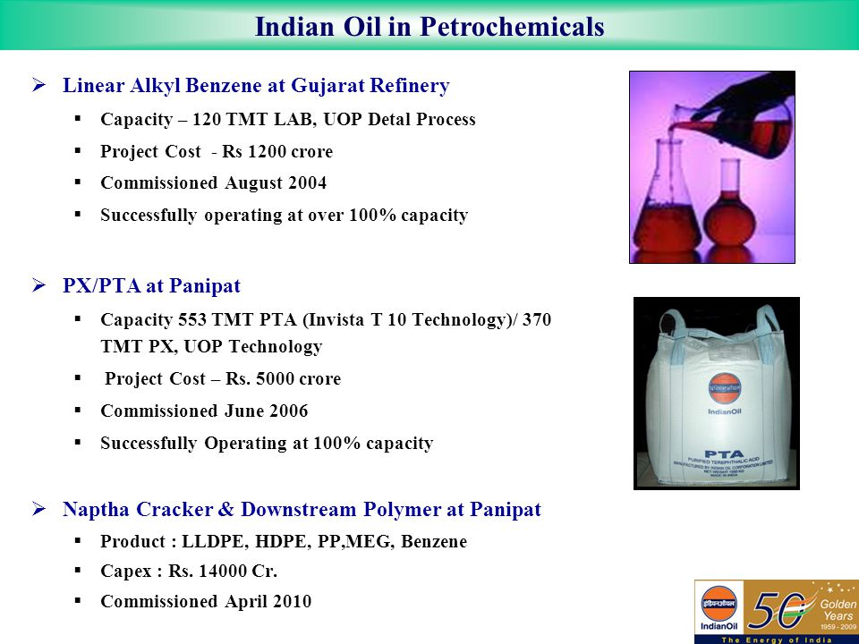 Indian Oil in Petrochemicals