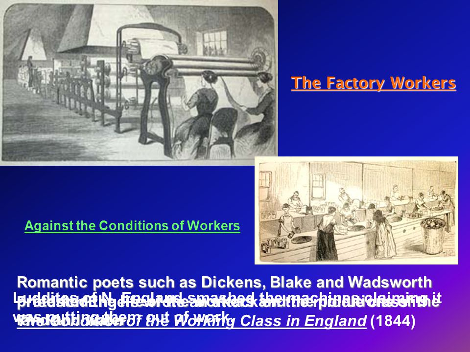 The Factory Workers Against the Conditions of Workers.