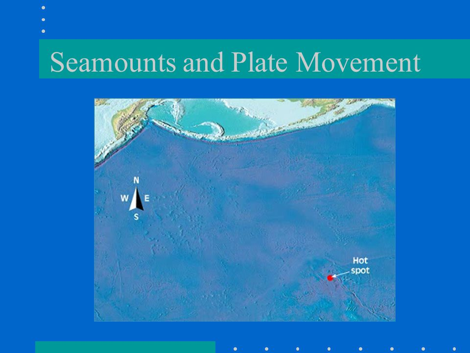 Seamounts and Plate Movement