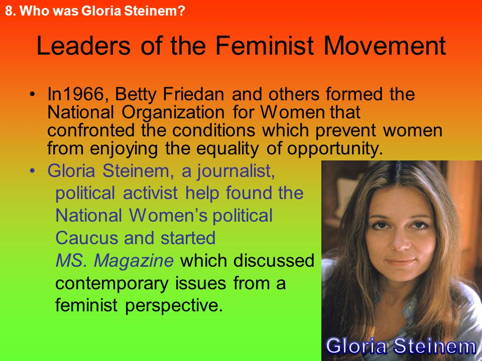 Leaders of the Feminist Movement