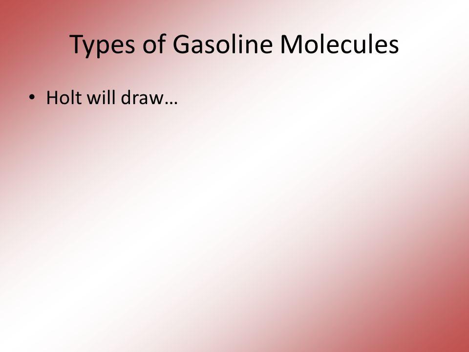Types of Gasoline Molecules