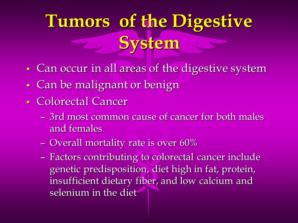 Tumors of the Digestive System
