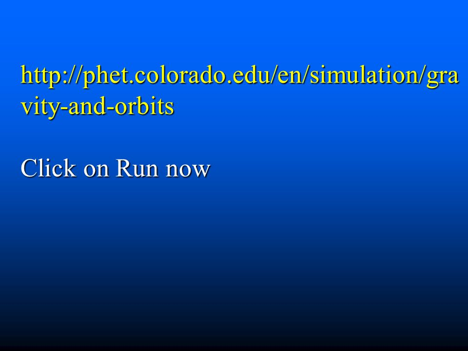 http://phet.colorado.edu/en/simulation/gravity-and-orbits Click on Run now