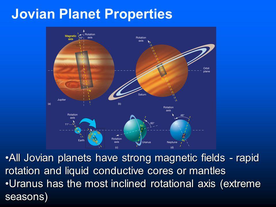 Jovian Planet Properties
