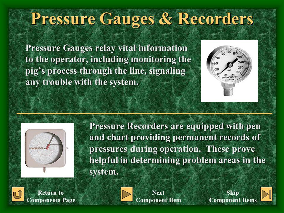 Pressure Gauges & Recorders