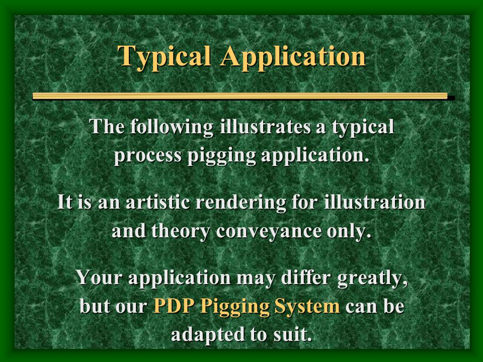 Typical Application The following illustrates a typical