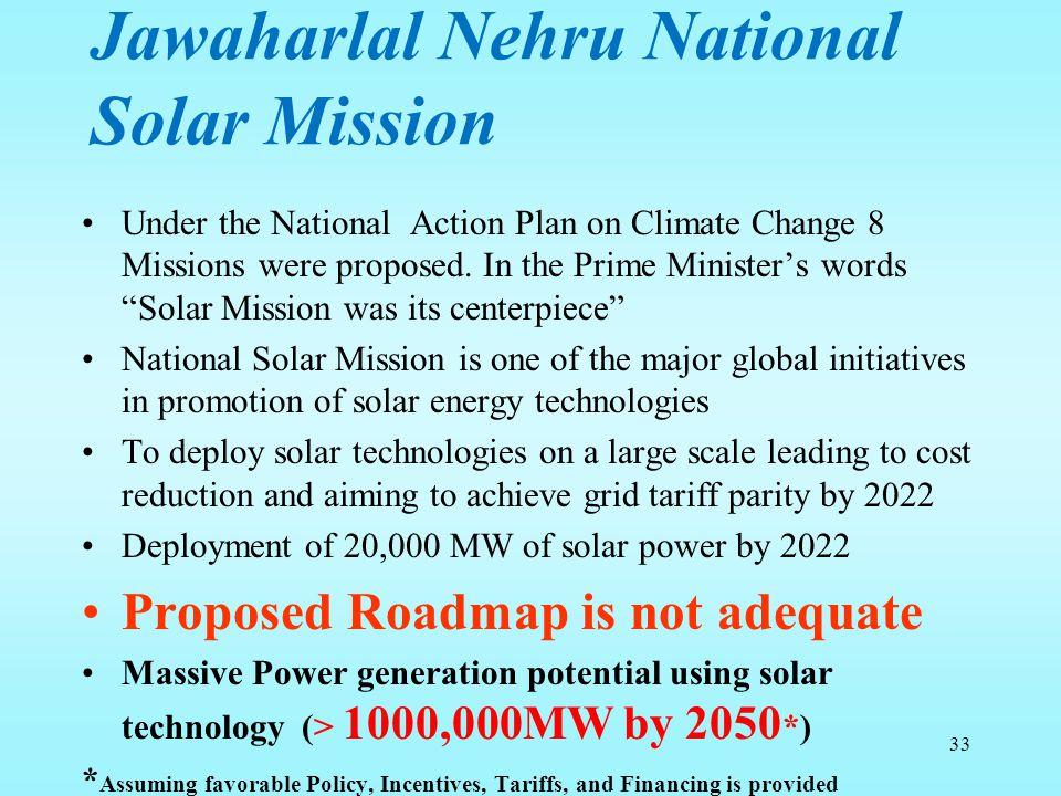 Jawaharlal Nehru National Solar Mission