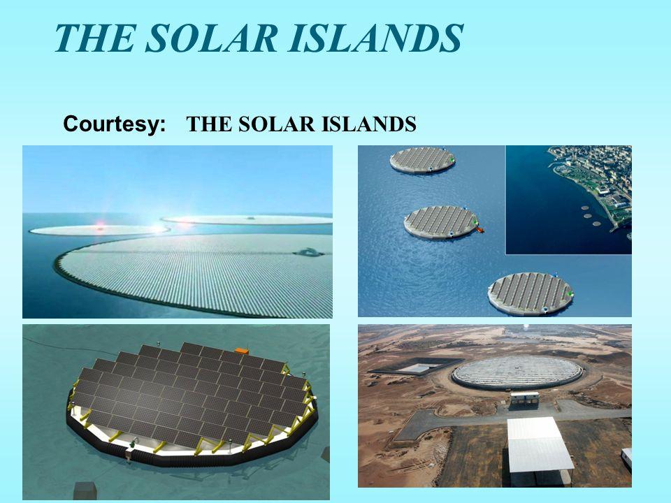 THE SOLAR ISLANDS Courtesy: THE SOLAR ISLANDS
