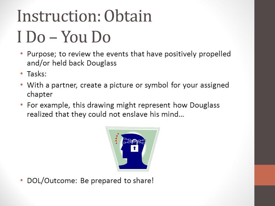 Instruction: Obtain I Do – You Do