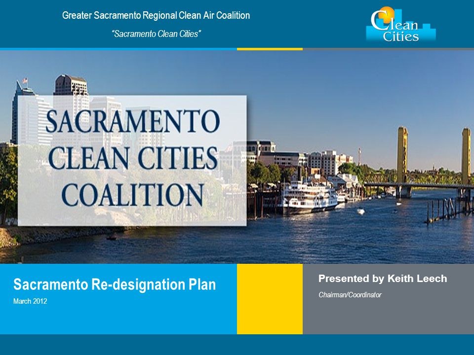 Sacramento Re-designation Plan