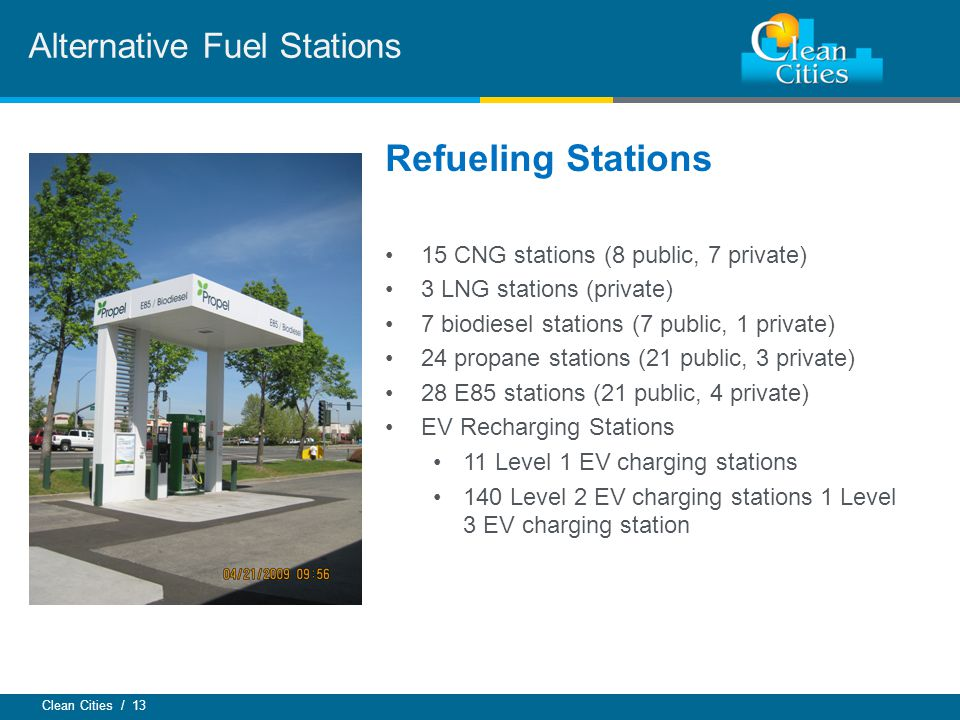 Alternative Fuel Stations