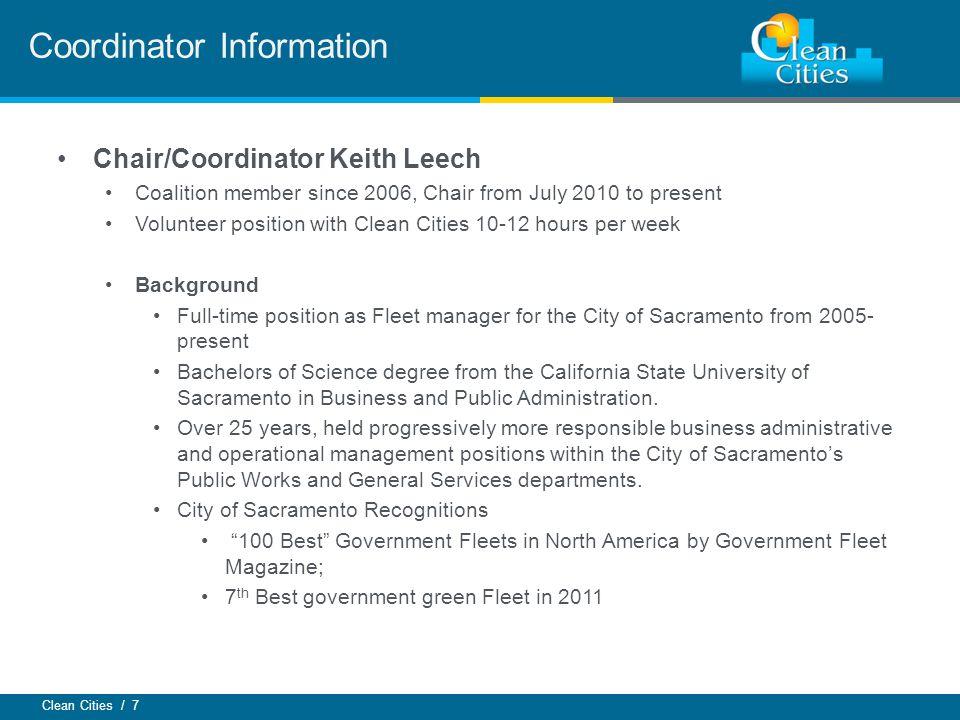 Coordinator Information