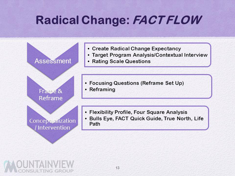 Radical Change: FACT FLOW