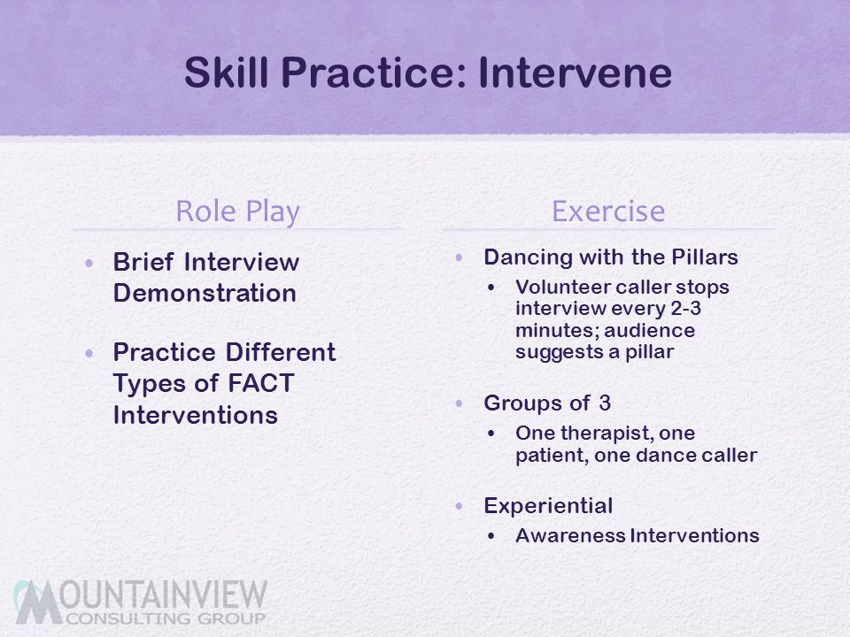 Skill Practice: Intervene