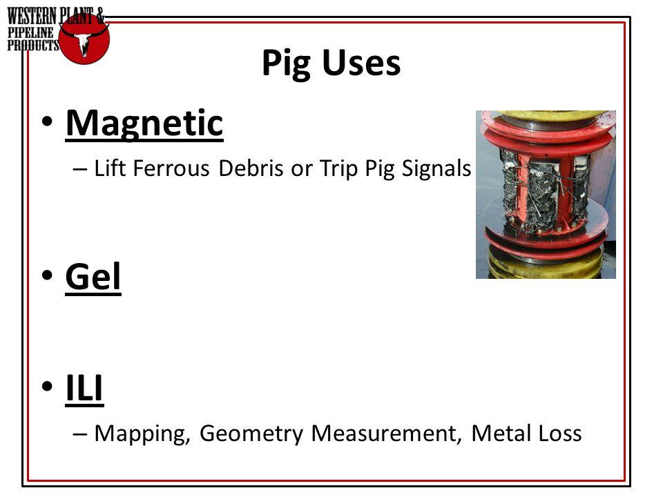 Pig Uses Magnetic Gel ILI Lift Ferrous Debris or Trip Pig Signals