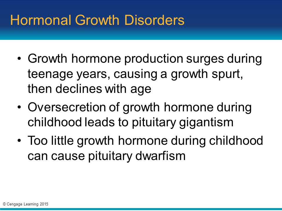 Hormonal Growth Disorders