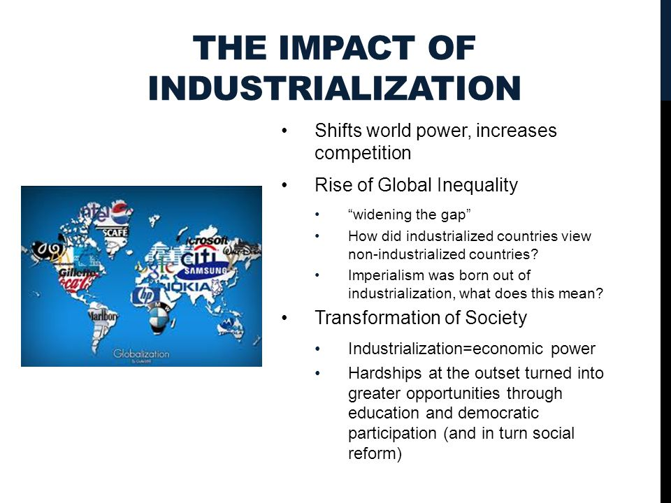 relationship between industrialization and imperialism