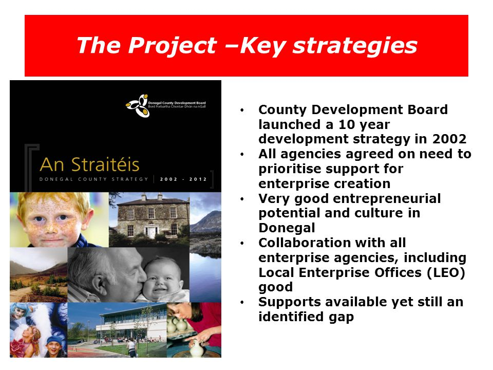 The Project –Key strategies