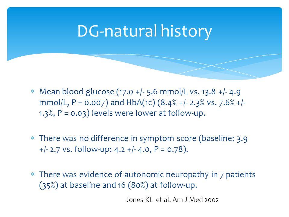 DG-natural history