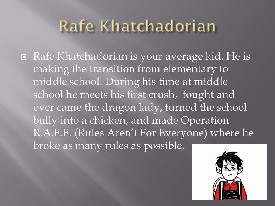 Rafe Khatchadorian