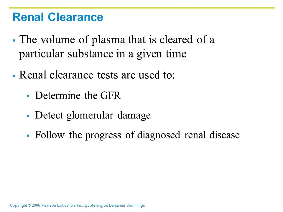 Renal clearance tests are used to: