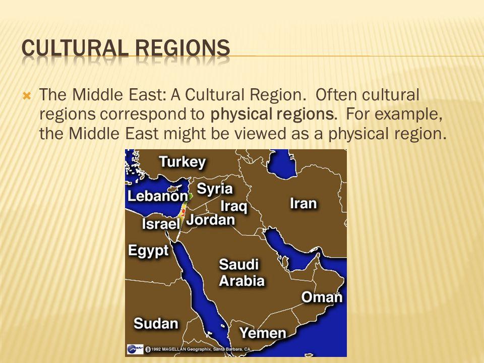 Cultural Regions