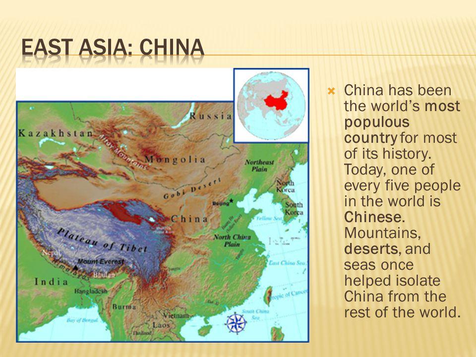 East Asia: China