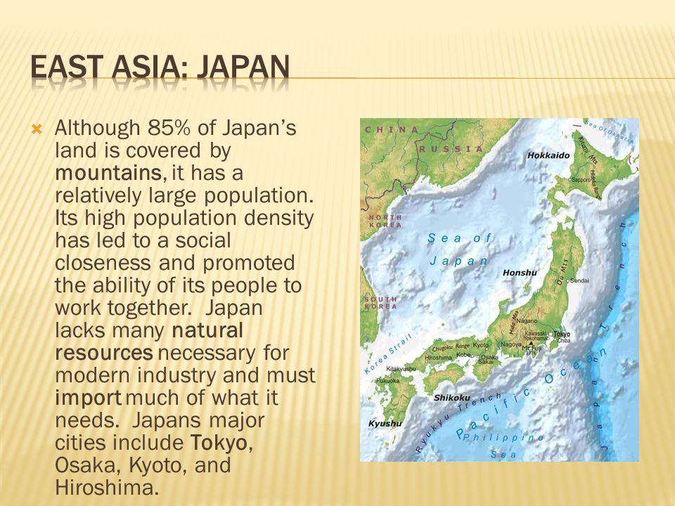 East Asia: Japan