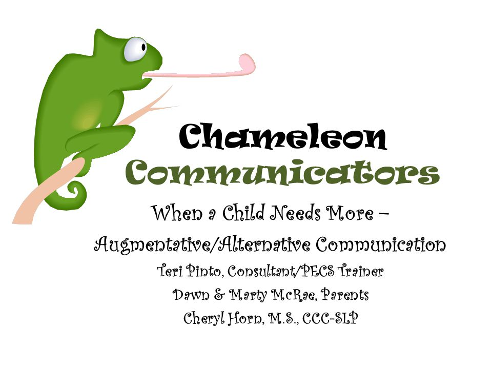 Chameleon Communicators
