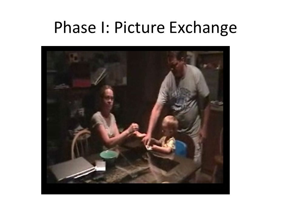 Phase I: Picture Exchange