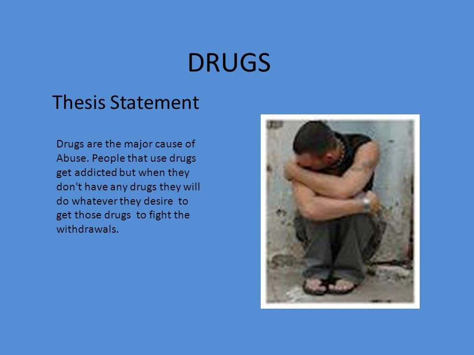 thesis statement on prescription drug abuse Help with thesis statement about prescription drug abuse was asked by shelly notetaker on may 31 2017 580 students have viewed the answer on studysoup view the.